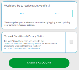 betvictor create account